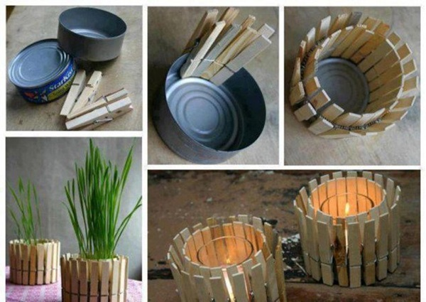 40 creative diy home decorating ideas - Home decoration handmade ideas ...