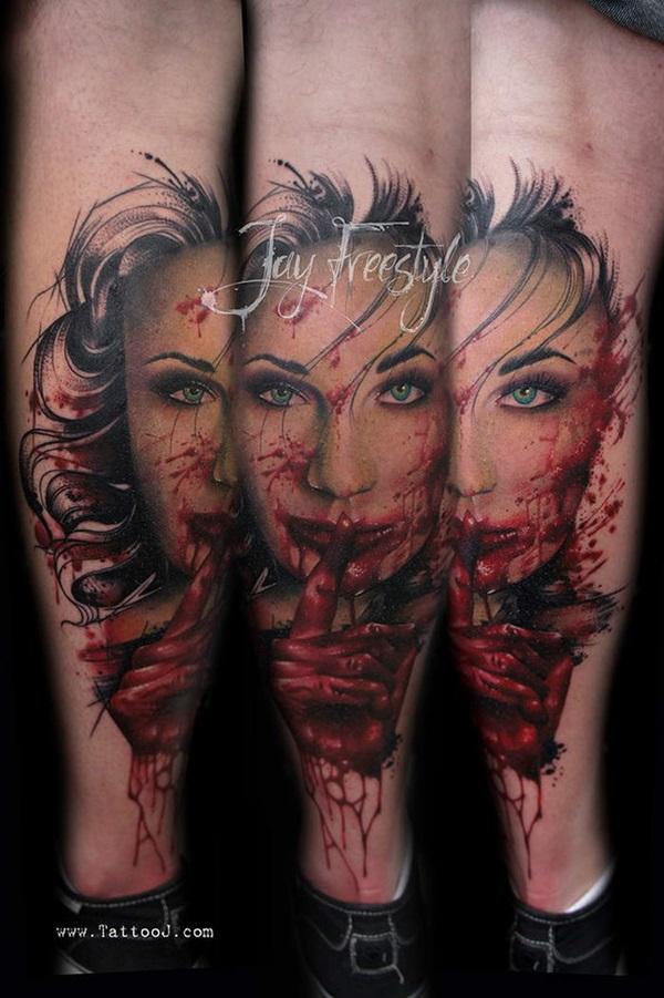 40 Mindblowing Freestyle Tattoo Designs 5