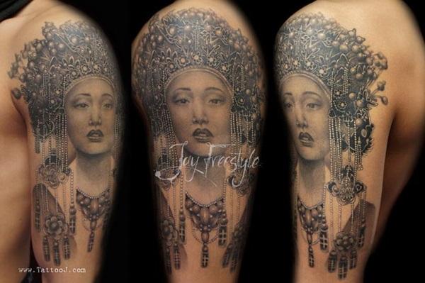 40 Mindblowing Freestyle Tattoo Designs 9