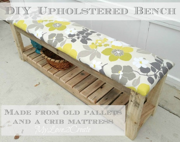 40 Ways to Make use of Old Pallets 26