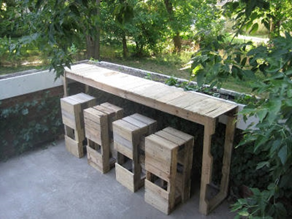 40 Ways to Make use of Old Pallets 31