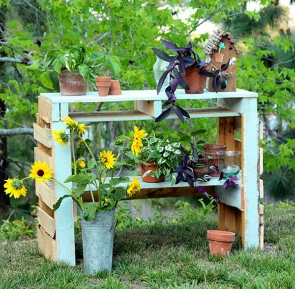 40 Ways to Make use of Old Pallets 32