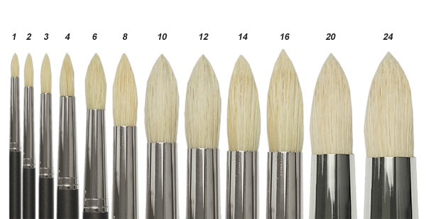 Different Types of Paint Brushes 5