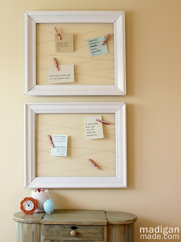 20 Things to make from Old Picture Frames 16