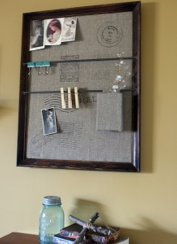20 Things to make from Old Picture Frames 9