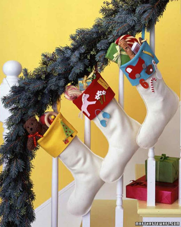 5 Beautiful Ideas for Christmas Stocking 1