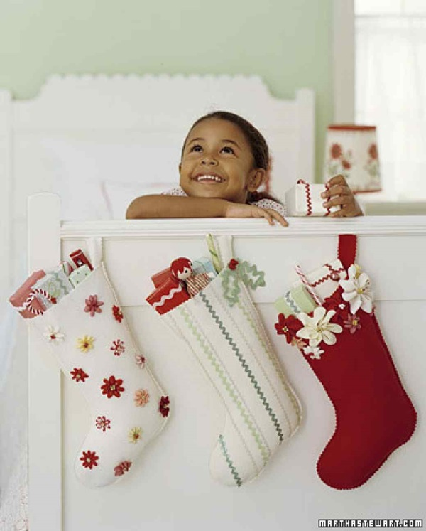 5 Beautiful Ideas for Christmas Stocking 2