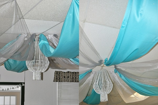 DIY Bead Chandelier Tutorial Feature Image