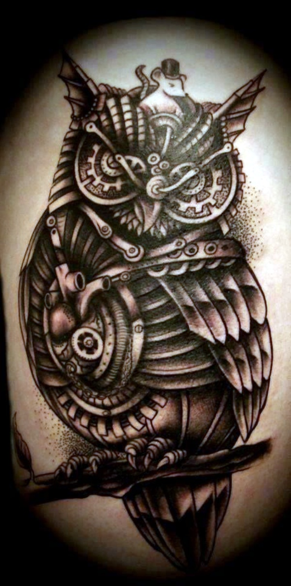 Steam punk Tattoo00003