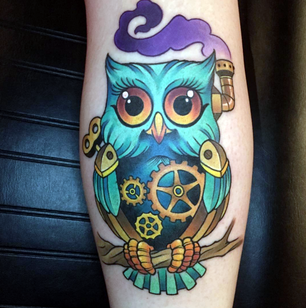 Steam punk Tattoo00006