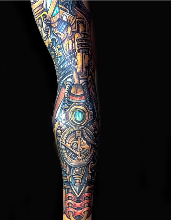 Steam punk Tattoo00007