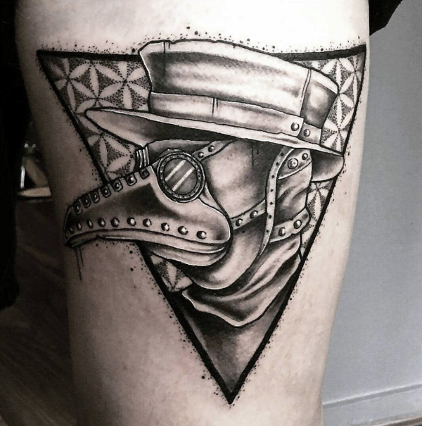 Steam punk Tattoo00012