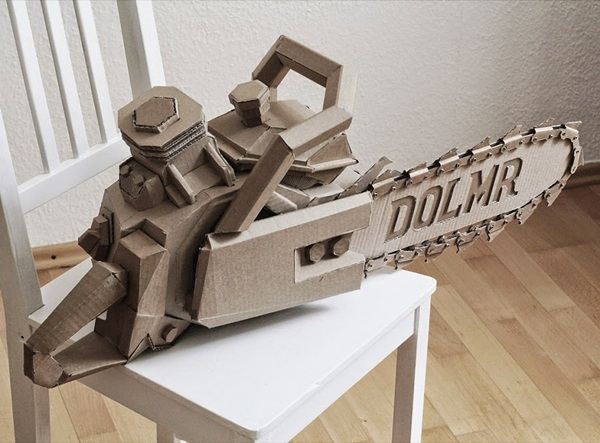30 Amazing Cardboard Sculptures 21