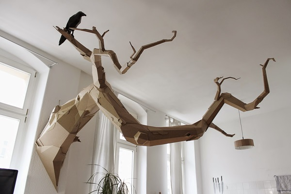 30 Amazing Cardboard Sculptures 22