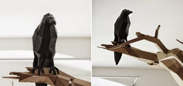 30 Amazing Cardboard Sculptures 23