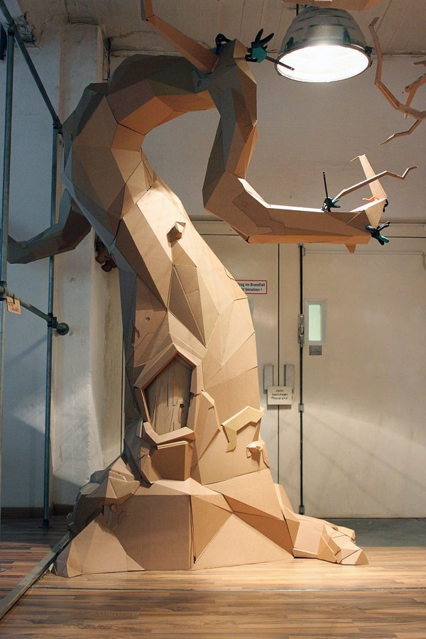 30 Amazing Cardboard Sculptures 29