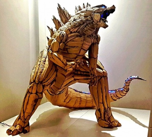 30 Amazing Cardboard Sculptures 31