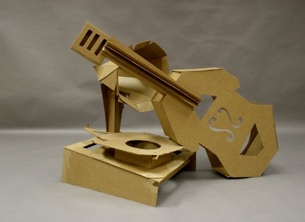30 Amazing Cardboard Sculptures 32