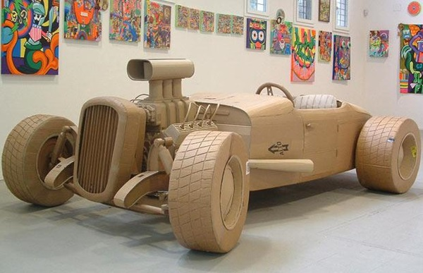 30 Amazing Cardboard Sculptures 34
