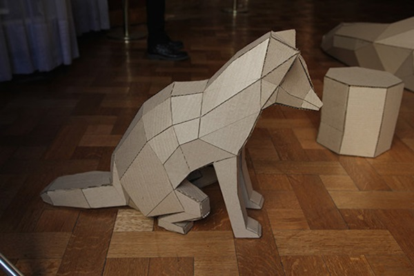 30 Amazing Cardboard Sculptures 38