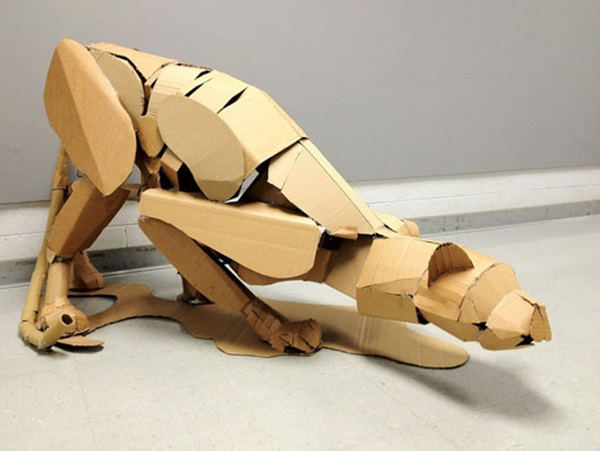 30 Amazing Cardboard Sculptures 4