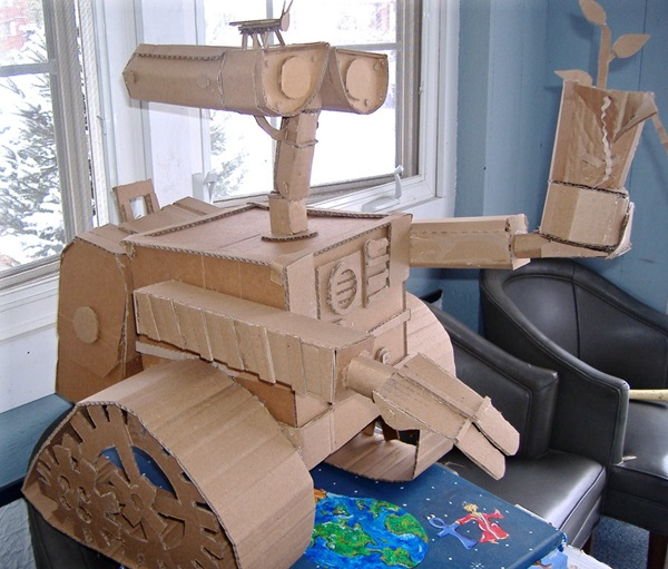 30 Amazing Cardboard Sculptures 9