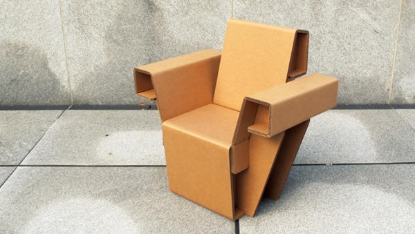 30 Realistic Cardboard Furniture Ideas 10