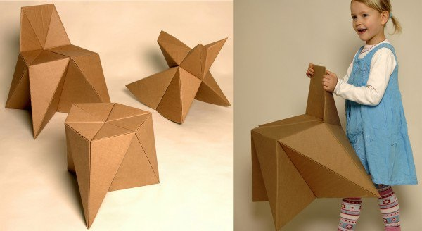 30 Realistic Cardboard Furniture Ideas 13