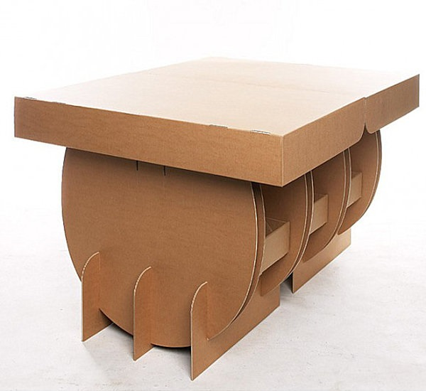 30 Realistic Cardboard Furniture Ideas 16