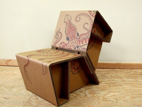 30 Realistic Cardboard Furniture Ideas 17