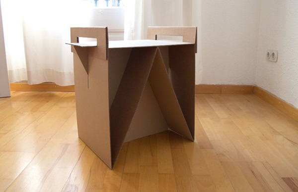 30 Realistic Cardboard Furniture Ideas 20