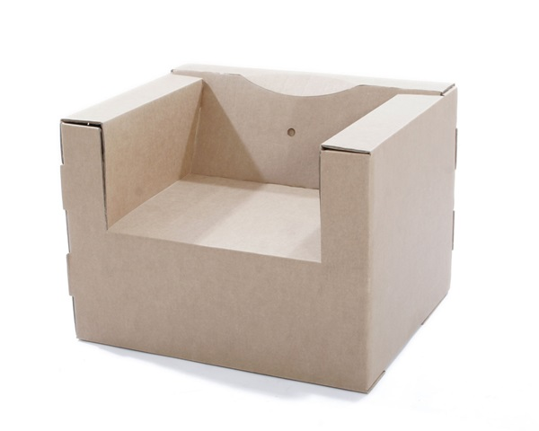 30 Realistic Cardboard Furniture Ideas 26