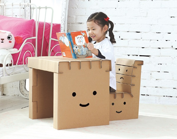 30 Realistic Cardboard Furniture Ideas 27