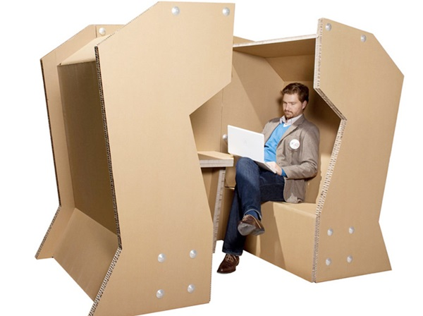 30 Realistic Cardboard Furniture Ideas 30