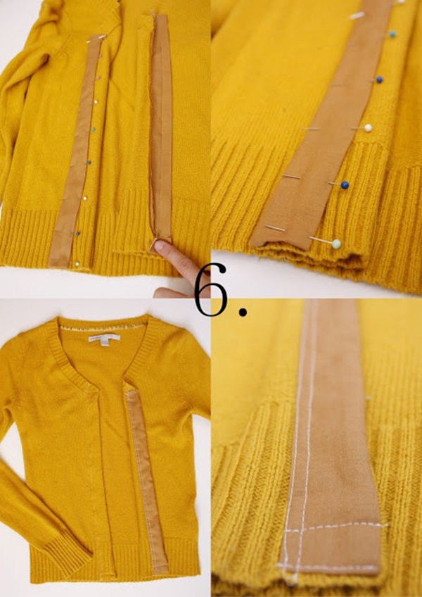 Beautiful DIY Cardigan Conversion Ideas for Pregnant Mothers 3