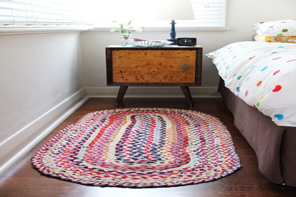 How To Make a Braided Rugs With old T-Shirts