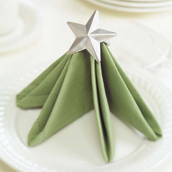 30 Creative Napkin Folding Ideas 13
