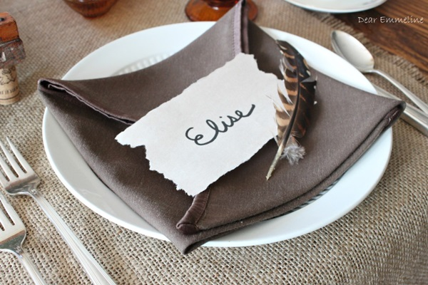 30 Creative Napkin Folding Ideas 23