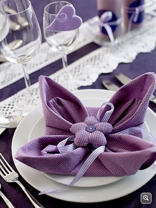 30 Creative Napkin Folding Ideas 25