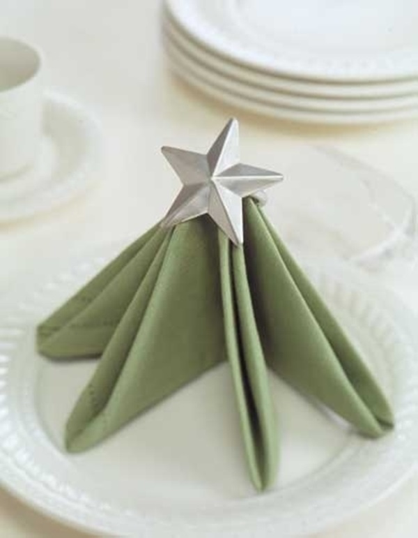 30 Creative Napkin Folding Ideas 5