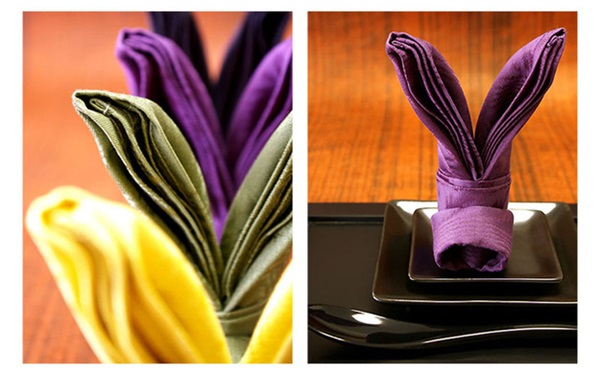 30 Creative Napkin Folding Ideas 6