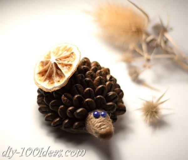Amazing DIY Coffee Beans Crafts 16