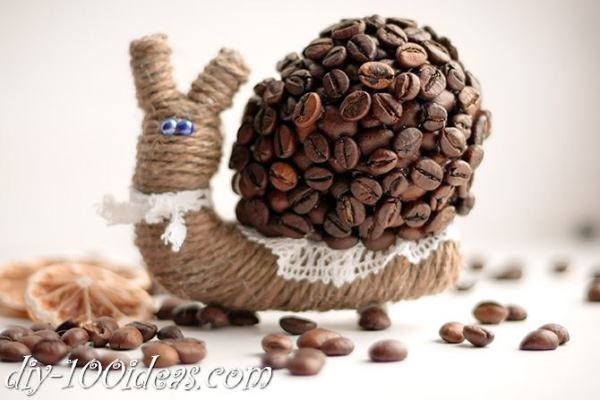 Amazing DIY Coffee Beans Crafts 40