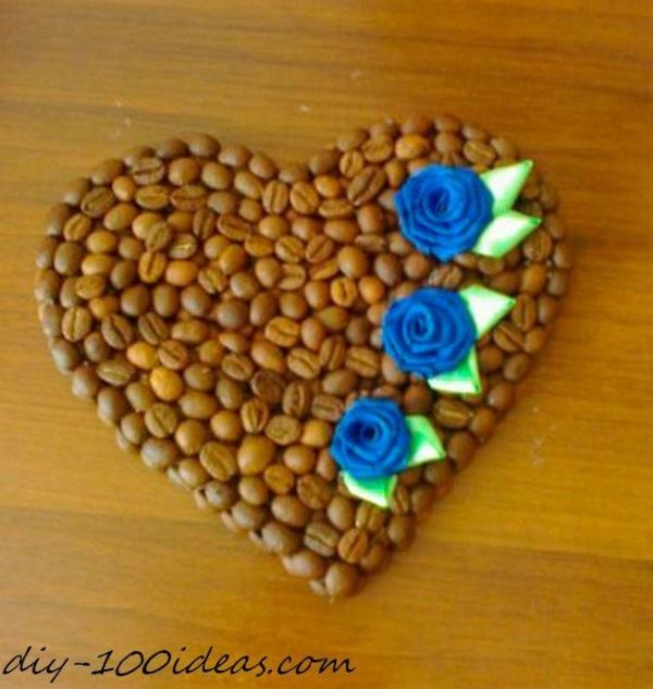 Amazing DIY Coffee Beans Crafts 42