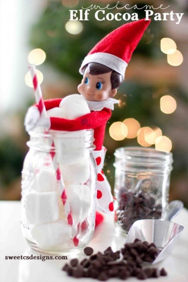 Top 20 Elf on the Shelf Ideas 1