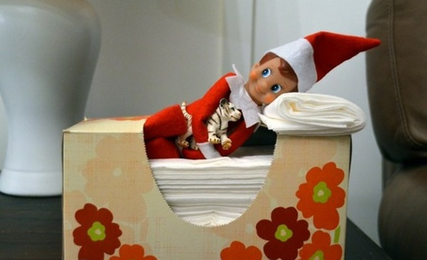 Top 20 Elf on the Shelf Ideas 3