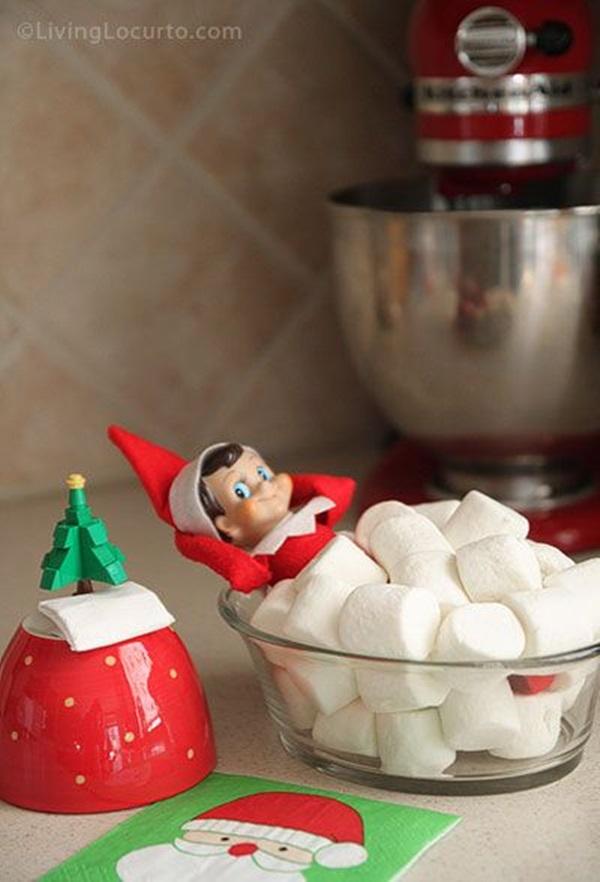 Top 20 Elf on the Shelf Ideas 5