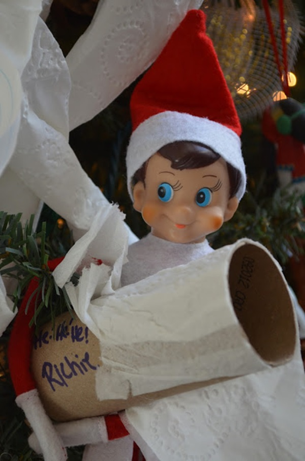 Top 20 cute and attractive elf on the shelf ideas for Elf shelf craft show