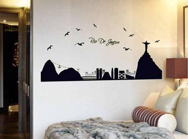 40 Amazing Design of Poster Wallpapers for Bedroom 11