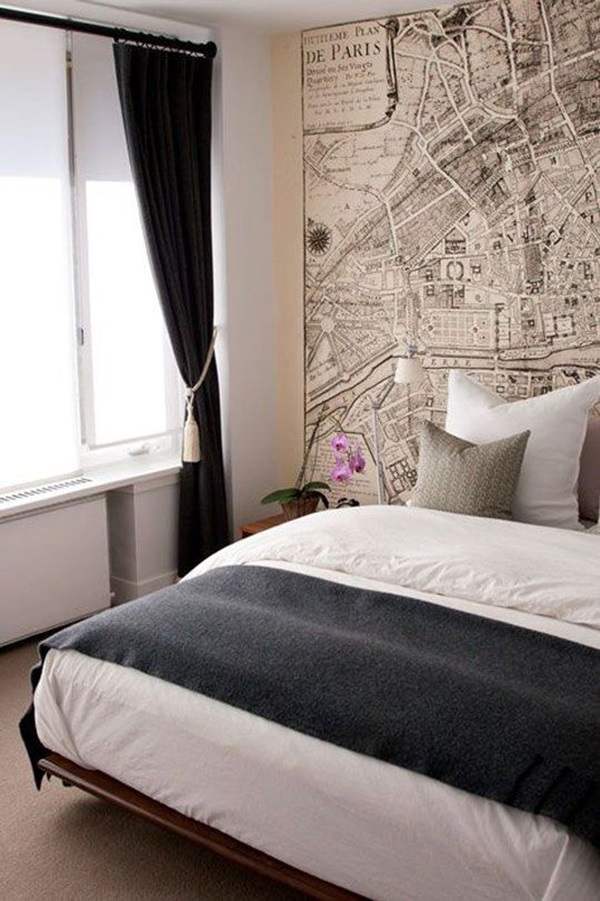 40 Amazing Design of Poster Wallpapers for Bedroom 16